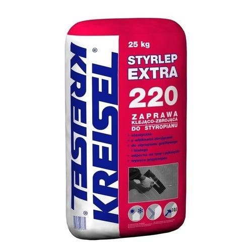 Zaprawa klejąca do styropianu i siatki Kreisel Styrlep Extra 25 kg
