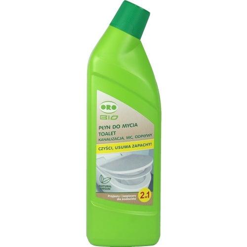 Płyn do mycia muszli klozetowych 2w1 750 ml