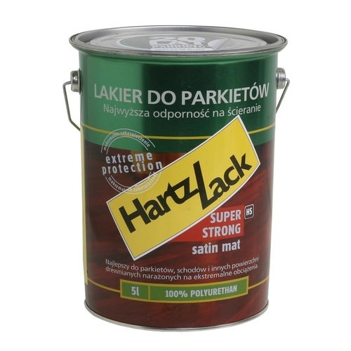 Lakier HartzLack satyna mat 5l
