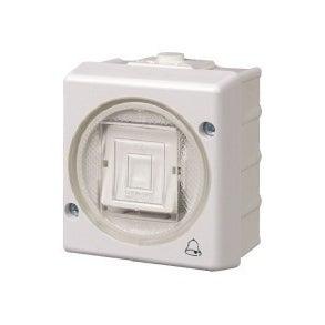 Karlik Senior biały przycisk IP44