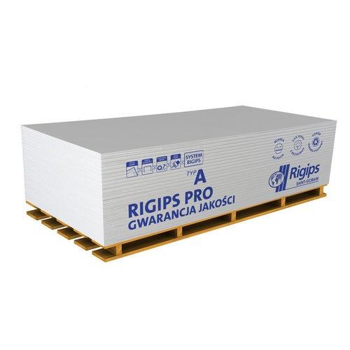 Płyta gipsowo-kartonowa standardowa Rigips PRO 1200x2000x12,5 mm GKB typ A