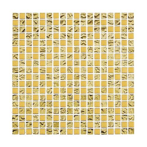 Mozaika szklana DD1 Gold MIX 15 30x30 cm gat.1