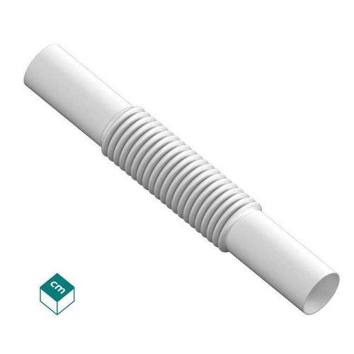 Złączka elastyczna ZCL 20mm UV biała 100szt