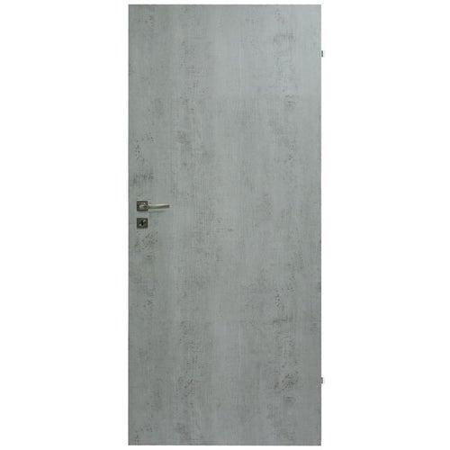 Skrzydło pełne Deco 90 prawe beton