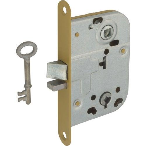 Zamek wpuszczany na klucz do WC 72/45 mm