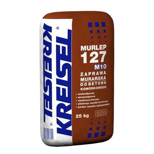 Zaprawa murarska cienkowarstwowa Kreisel Murlep 127 25 kg