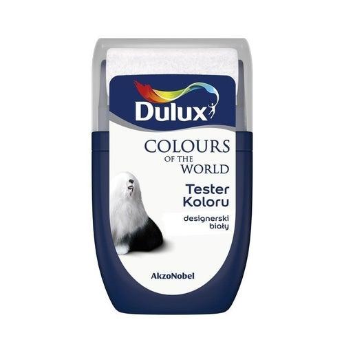 Farba Dulux Kolory Świata designerski biały 0,03l