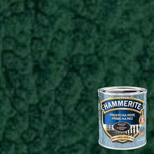 Farba antykorozyja Hammerite ciemnozielony młotkowy 0,7l