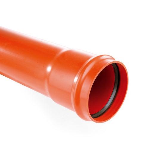 Rura kanalizacyjna zewnętrzna, PVC  SN 2, fi 160 mm, dł. 1,0 m