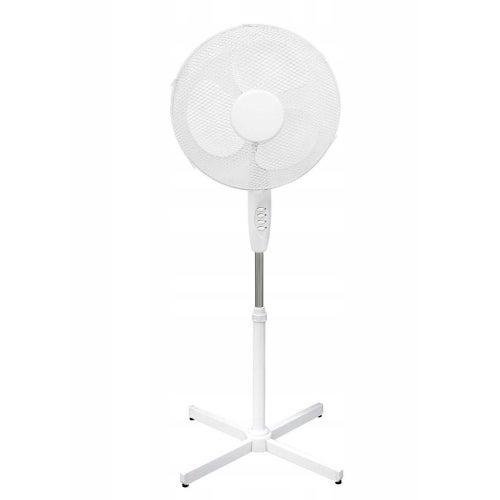 Wentylator stojący  45W średnica 40cm biały