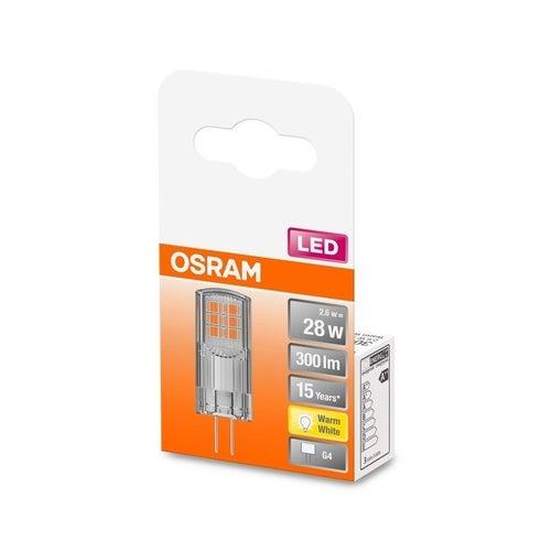 Żarówka LED 2,6W G4 300lm ciepło biała/2700K Osram