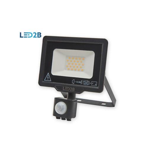 Naświetlacz MH LED 20W 1600lm 6000K IP44 z czujnikiem ruchu