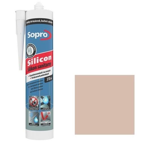 Silikon sanitarny Sopro 34 beż bahama 310 ml