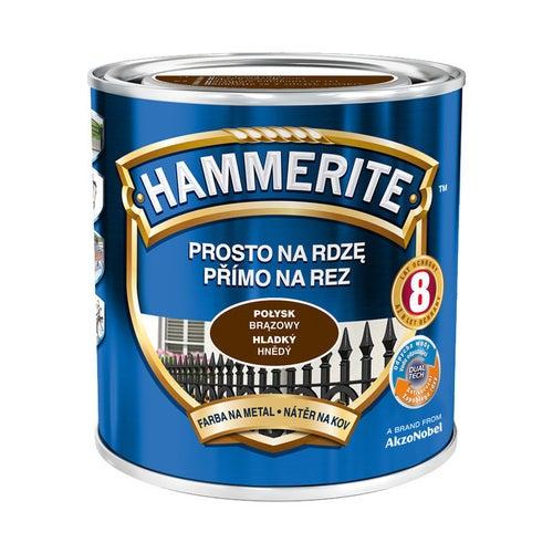Farba Hammerite połysk brązowy 0,7l