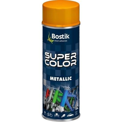 Spray Den Braven Super Color Metallic złoty 400ml