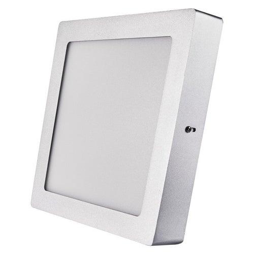 Oprawa sufitowa LED 18W 1500lm 4000K IP20 srebrna