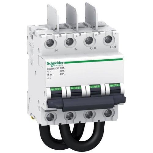 Rozłącznik izolacyjny DC C60NA 4P 20A 2-biegunowy 1000VDC A9N61690 Schneider