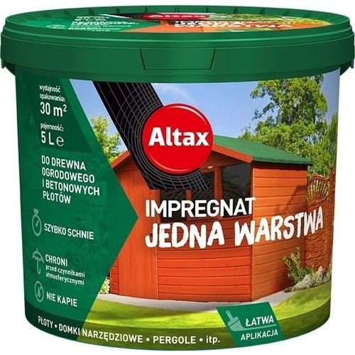 Impregant ogrodowy Altax brąz 5l