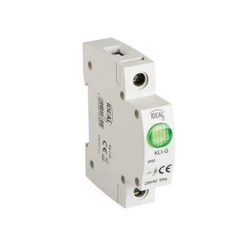 Lampka kontrolna LED 1-fazowa zielona