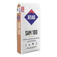 Podkład podłogowy Atlas SAM100, CA-C35-F6 25 kg, samopoziomujący, szybki, 5-30 mm