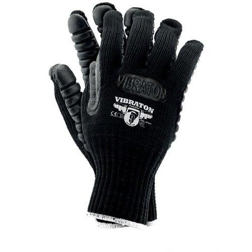 Rękawice antywibracyjne VIBRATON, rozm. 10 (XL)