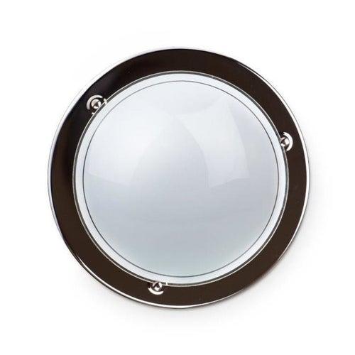 Plafon P1/1 Classic 1x60W, szkło, chrom
