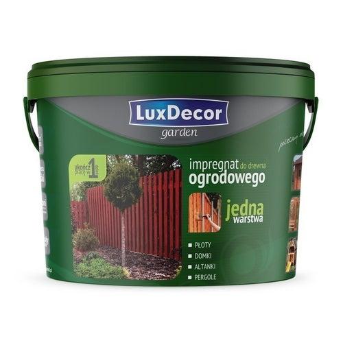 Impregnat do drewna ogrodowego LuxDecor Garden mahoń 5l