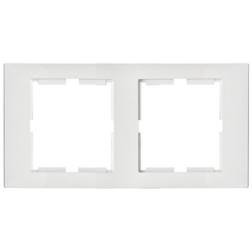 Polmark Sigma biały ramka podwójna