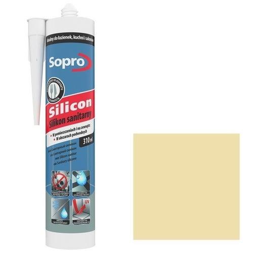 Silikon sanitarny Sopro 27 pergamon 310 ml
