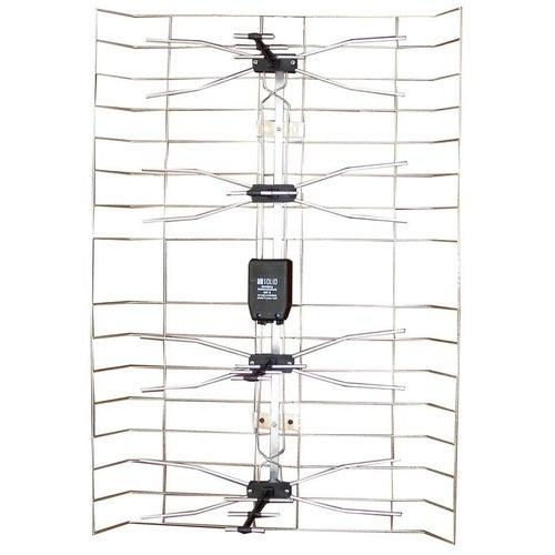 Antena zewnętrzna siatkowa ze wzmacniaczem