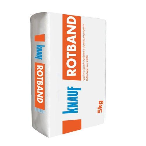 Tynk gipsowy ręczny Knauf Rotband 5 kg