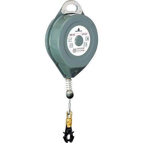 Urządzenie samohamowne z liną stalową AN11730F Delta Plus