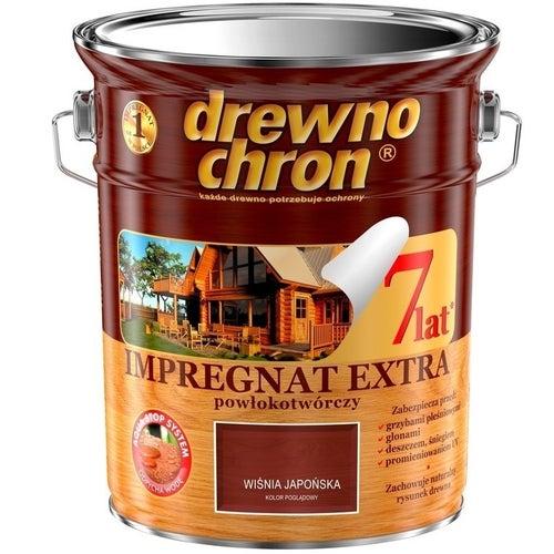 Impregnat Drewnochron Extra wiśnia japońska 4,5l
