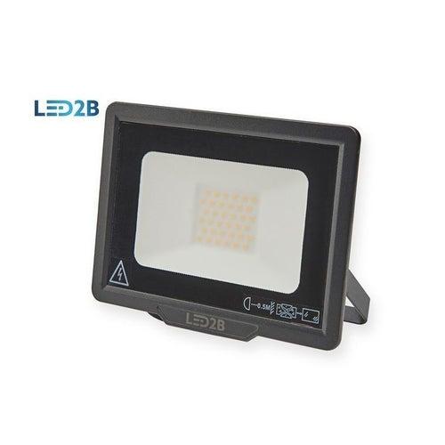 Naświetlacz MH LED 30W 2400lm 6000K IP65