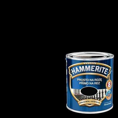Farba antykorozyja Hammerite czarny połysk 2,5l