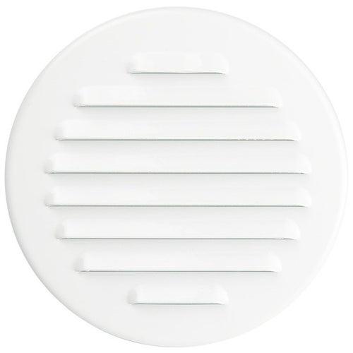 Kratka wentylacyjna metalowa fi 100 M9B biała