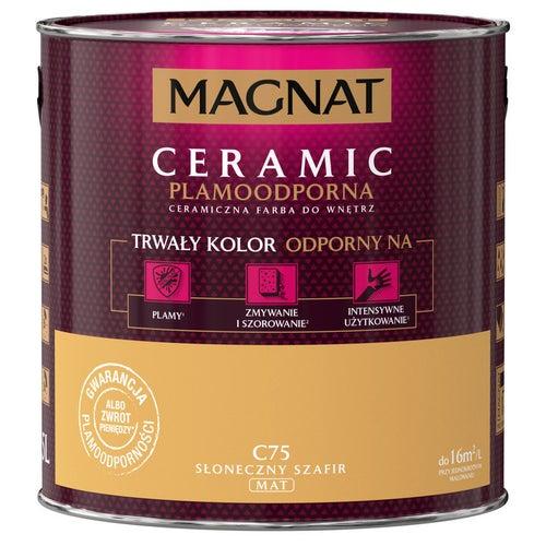 Farba Magnat Ceramic słoneczny szafir 2,5l