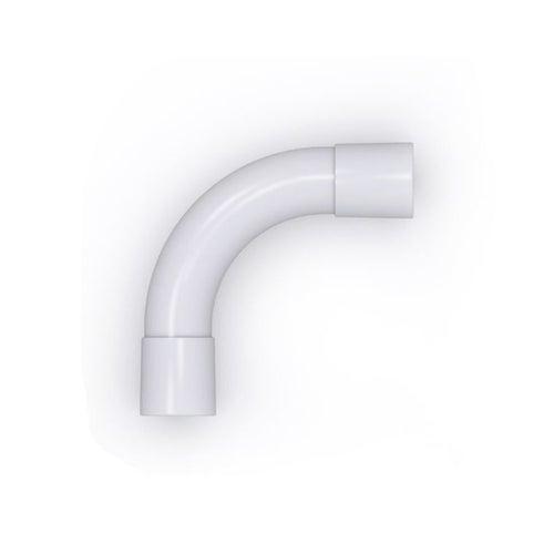 Złączka sztywna ZKS 90° 25mm UV biała 1szt