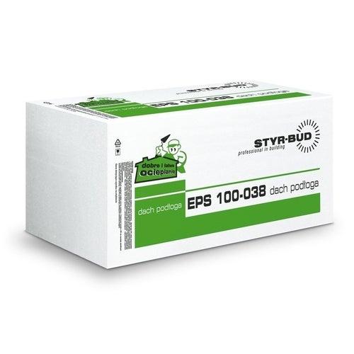 Styr-bud styropian podłogowy EPS100 grubość 3cm 0.3m3