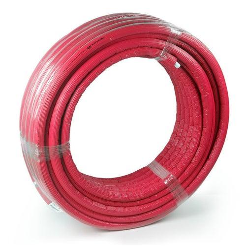 Rura Pex/Al/Pex 26x3 mm w otulinie czerwonej 6 mm 1 mb