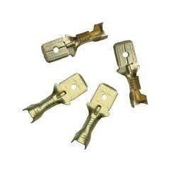 Konektor męski E 6.3-2.5mm2 10szt