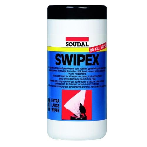 Ściereczka czyszcząca Swipex 80 sztuk
