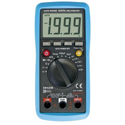 Multimetr EM420 pomiar wielkości elektrycznych