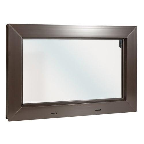 Okno gospodarcze uchylne KIPP 2000 600x400 mm brązowe