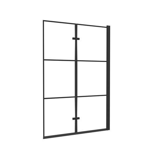 Parawan nawannowy Kabri Ineo Black 100x150 cm BR-0265