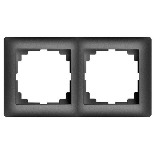 Elektroplast Astoria czarny ramka podwójna