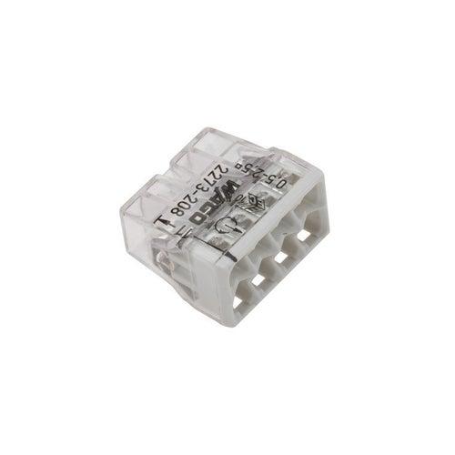 Szybkozłączka uniwersalna Wago 5x0,2-4mm2 100szt