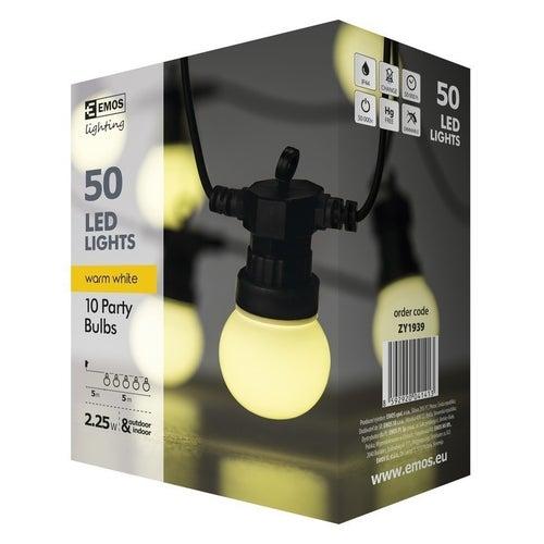 Łańcuch z żarówek LED 10x5 LED