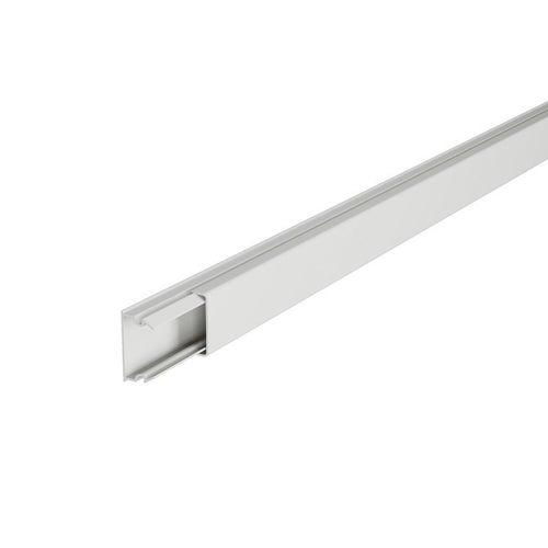 Listwa kablowa LN 20x12mm z taśmą samoprzylepną biała 2m