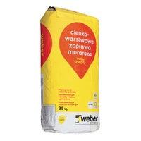 Zaprawa murarska cienkowarstwowa Weber ZM 10 25 kg
